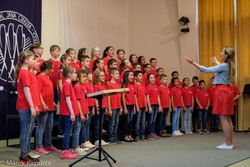Vystúpenie na súťaži Mládež spieva 2019